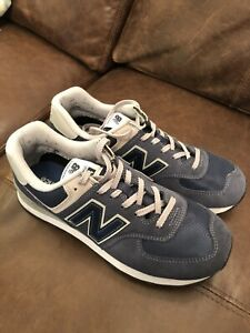 mens new balance 574 trainers size 9