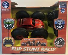 RC Flip Stunt Rally with Remote Controller  Blue Hat Toy Company