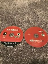 PS2 METAL GEAR SOLID 2 SONS OF LIBERTY DISCS ONLY