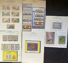UPU 1974, Guinea Ecuatorial, Burundi, Togo, Mali, Minisheets 30 stamps, MNH