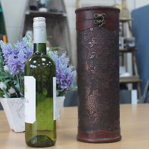 Wine bottle box - Level 50's Glamour Design Wooden Wine Box Gift idea