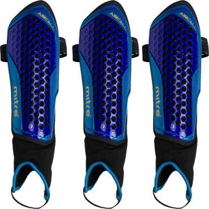 Mitre Aircell Carbon Ankle Shin Guards Protector Shin Pads Mens, Adults XS S M L