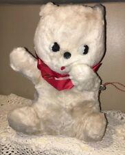 Vtg Rushton Star Creation Musical Moveable Bear Stuffed Thorens Swiss Music