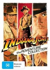The Indiana Jones Adventure Collection (DVD, 2008, 3-Disc Set) Harrison Ford