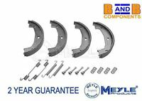BMW 3 SERIES E46 E90 HAND BRAKE PARKING SHOES SET FITTING KIT MEYLE A805
