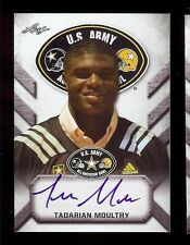 TADARIAN MOULTRY - Auburn Tigers 2017 Leaf Army *TOUR* Certified AUTOGRAPH RC