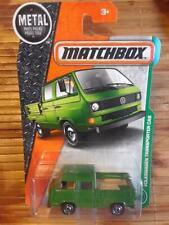 Matchbox 2017 Mb95 Volkswagon Transporter Crew Cab Mbx Metal (Spare&Chain Inbed)