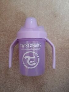 Twistshake Purple Cup Baby Drinking Cup Add Fruit to Water