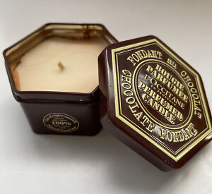 L'Occitane Chocolate Fondant Candle In Tin 100g 20 Hours