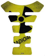 CUSCINETTO SERBATOIO 3d radioactive YELLOW 500248 universalmente corrispondente SERBATOIO MOTO PROTEZIONE