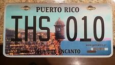 Novelty license plate Puerto Rico