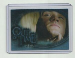 Supernatural Season 3 Out Of Time Insert Trading Card #OT.1 Held