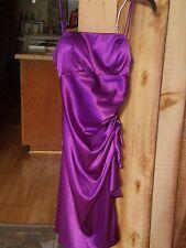 Beautiful Purple Dress by Linda Bernell Size 9