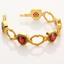 New Rebecca 27.20 CT Hydro Ruby Romance Bracelet *SOPHISTICATED* [MPRP~$640]
