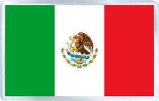 MEXICO FLAG FRIDGE MAGNET SOUVENIR IMAN NEVERA