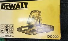 DEWALT 240V AREA LIGHT/CHARGER DC022 BRAND NEW IN BOX