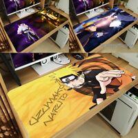 New Anime Naruto Uzumaki Naruto Large Mouse Pad Game Keyboard Desk Mat AMG Gift