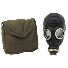 Russian Army Military Black GP5 Protective Gas Mask with Shoulder Bag GRADE 1