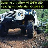 Landrover DEFENDER  Pair 7'' 105W Round LED Head lights
