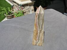 "6 1/4"" ONYX OBELISK FOR DISPLAY A30-33"
