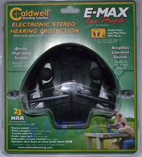 Caldwell E-Max Low Profile Electronic Hearing Protection Ear Muff - #487557