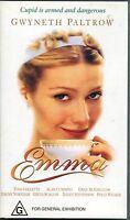 PAL VHS VIDEO TAPE : EMMA : GWYNETH PALTROW, TONI COLLETTE, Jane Austen