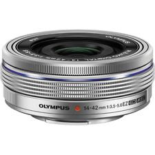 Olympus 14-42mm EZ Zoom Lens - Silver: White Box