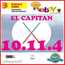 Mac OS X El Capitan 10.11 .4  Installer Bootable USB Sandisk Mac Pro Book  Air