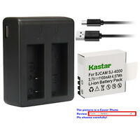 Kastar Battery Dual USB Charger for SJCAM SJ4000B & SJCAM SJ7000 SJCAM SJ8000