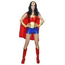Wonder Woman Adults Justice League Halloween Party Fancy Dress Costume