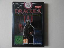 Dracula - The Path Of The Dragon (PC, 2011, DVD-Box) 3 Spiele auf einer CD