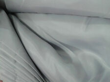 Quality Lining Fabric Colourful 150cm Wide Satin Curtain Dress Lining Material Silver Grey 1 Metre
