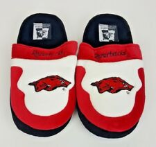 Comfy Feet Arkansas Razorbacks Slip-On Slippers Size 6-7.5 Medium NCAA NEW