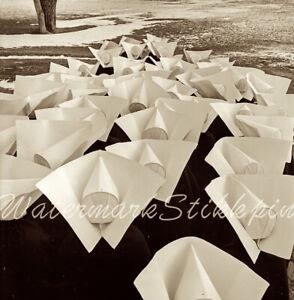 1950s photo Negative NYC Abstract NUN Cornette Floats Central PARK Harry AMDUR