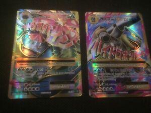 M Venusaur EX 100/108 & M Blastoise EX 102/108 Pokémon Full Art