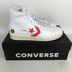 Converse Pro Leather Hi Sneakers Mens Size 9.5 White 171197C