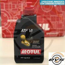 MOTUL ATF VI Olio Fluido Trasmissione Cambio Automatico 100% Sintetico 1 Litro