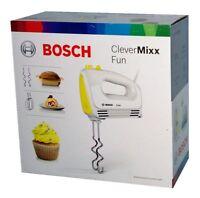Bosch MFQ2210Y CleverMixx Fun Handrührer/Handmixer 375 Watt Weiß/Gelb