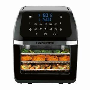 Digital Air Fryer 12L Air Oven Low Fat Healthy Cooker 1800W Oil Free Rotisserie
