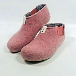 Cute Baabuk Women's Pink Yves Mel Filzpantoffel Slipper Slippers Size 37 6.5