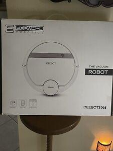 Ecovacs DEEBOT907-RB Deebot 907 Carpet & Floors Smart Robotic Vacuum Used. Works