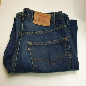 """Levi's Jeans - 575 - Baggy Straight -Blue 32"""" - Vintage Made in USA- 100% Cotton"""