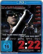 BLU-RAY - 2:22 - DER PLAN WAR EINFACH - DER JOB WAR ES NICHT - NEU/OVP