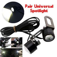 LED NEW Motorcycle Headlight Handlebar Spotlight Daytime Light Driving Fog Lamp