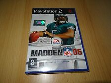 PS2 Madden NFL 06 UK Pal New & Sony Factory Sealed
