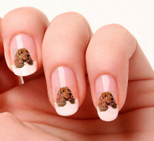 20 Nail Art Stickers Transfers Decals #758 - Dog english cocker spaniel