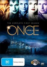 Once Upon A Time: Season 1 (DVD, 2012, 6-Disc Set) NEW REGION 4, FREE POSTAGE