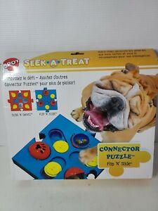 Spot See A Treat Dog Treat Seek a Treat Flip N Slide Treat Puzzle Dispenser