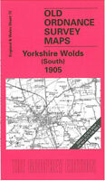 Old Ordnance Survey Map Yorkshire Wolds South 1905 - England Sheet 72