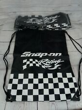 Snap-On Tools Racing Nylon Sinch Sack Back Pack Bag